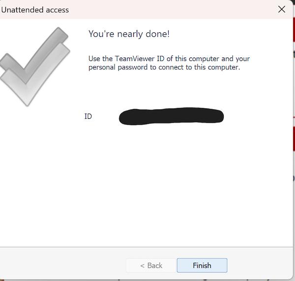 TeamViewer Server Install